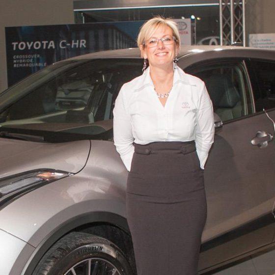 Muriel Pas, Garage Toyota Herstal