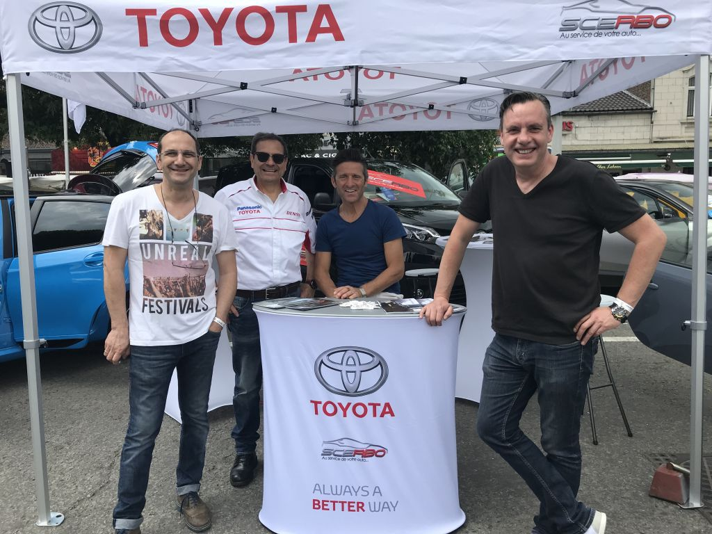 Concessionnaire Toyota Oupeye, Scerbo